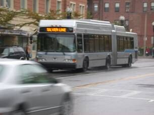 Boston Silver Line BRT bus
