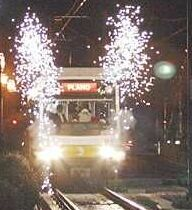 LRT arriving in Downtown Plano