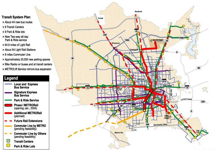 As Houston\'s Light Rail Project Nears Finish, Major Vote Looms Nov. 4th