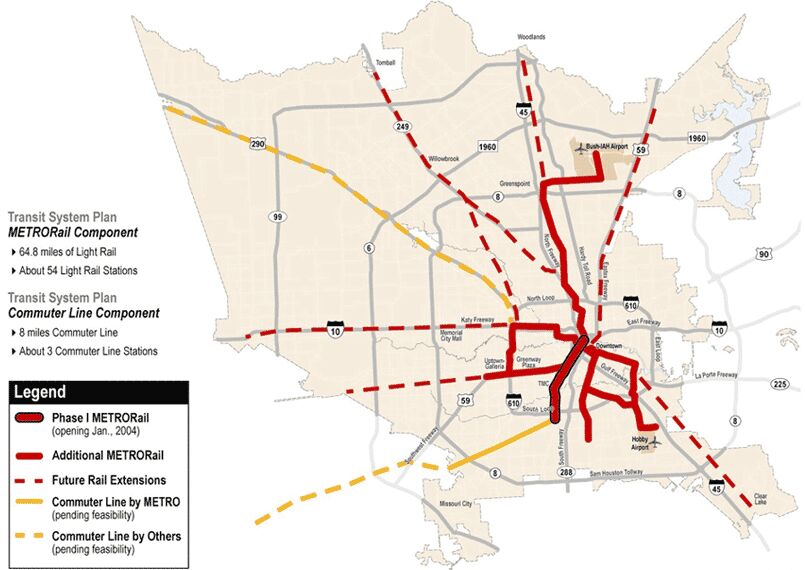 So what is the deal with future light rail expansion Houston