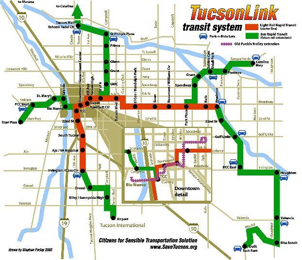 Tucson: Grassroots Campaign Sparks Nov  4th Vote on Light Rail +