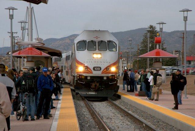 Albuquerque To Santa Fe >> Albuquerque Rail Runner Express Reaches Santa Fe Success Inspires