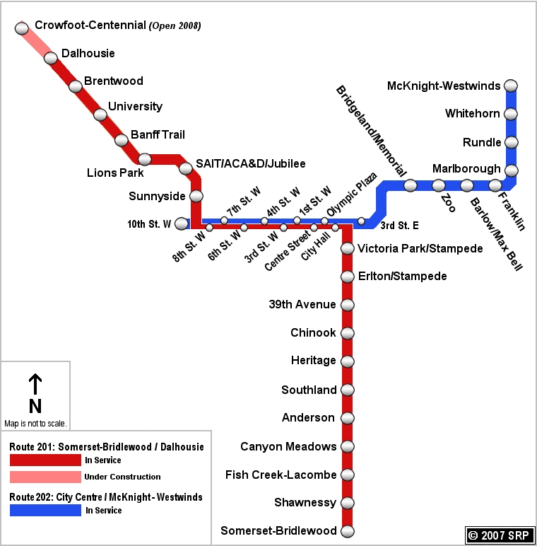Calgary Ctrain Light Rail Growth Continues With Northeast