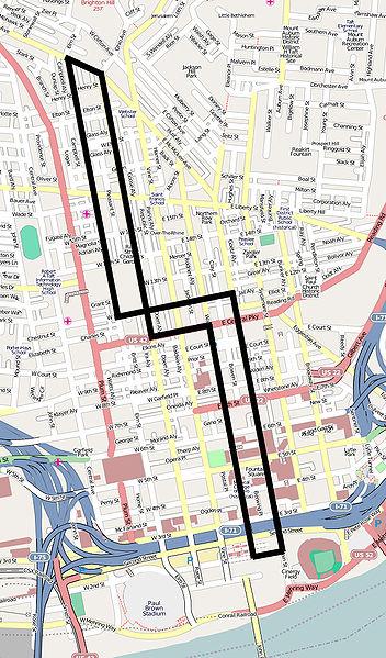 Cincinnati Subway Map.Cincinnati Rail Transit Wins At Last Light Rail Now
