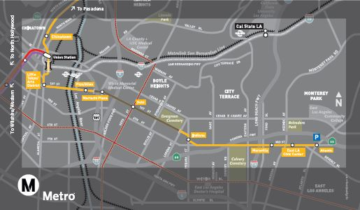 East Los Angeles Goes For The Gold Line Light Rail Now