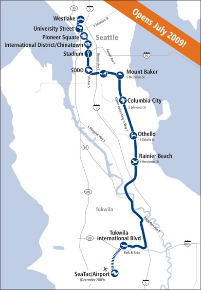 Seattle\'s New Link Light Rail System Brings Rapid Transit to Puget ...