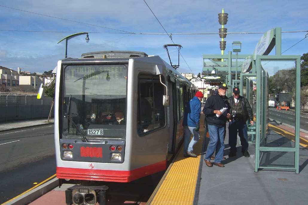 San Francisco Third St. LRT